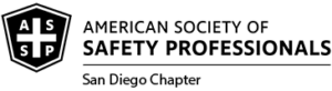 American Society of Safety Professionals - San Diego Chapter